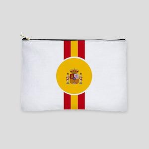 Spaniard Flag Gear Makeup Bag
