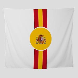 Spaniard Flag Gear Wall Tapestry