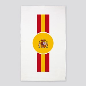 Spaniard Flag Gear Area Rug