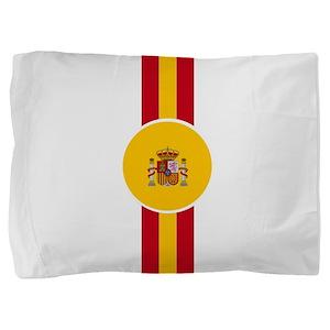 Spaniard Flag Gear Pillow Sham