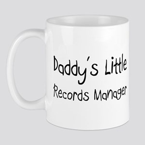Daddy's Little Records Manager Mug