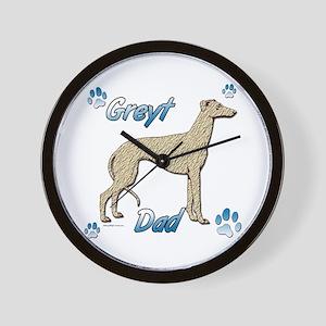 Greyt fawn brindle Wall Clock