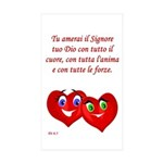 Italian Deut 6:5 Rectangle Sticker 10 pk)