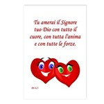 Italian Deut 6:5 Postcards (Package of 8)