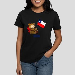 Chile Teddy Bear Women's Light T-Shirt