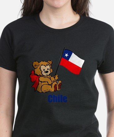 Chile Teddy Bear Women's Light T-Shirt