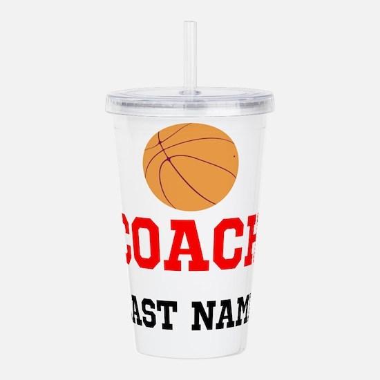 Basketball Coach Acrylic Double-wall Tumbler
