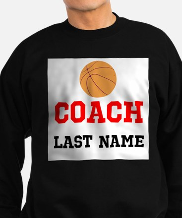 Basketball Coach Sweatshirt