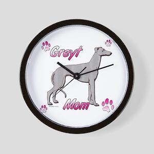 Greyt mom blue Wall Clock