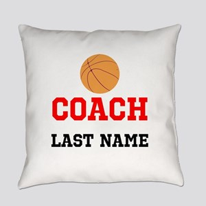 Basketball Coach Everyday Pillow