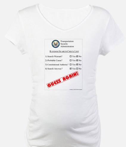 TSA Check List Shirt