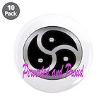 """3.5"""" BDSM Button (10 pack)"""