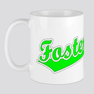Retro Foster City (Green) Mug
