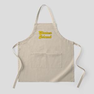 Retro Staten Island (Gold) BBQ Apron