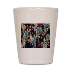 Where's Willy? Shot Glass