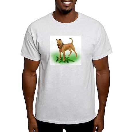irish Terrier christmas Light T-Shirt