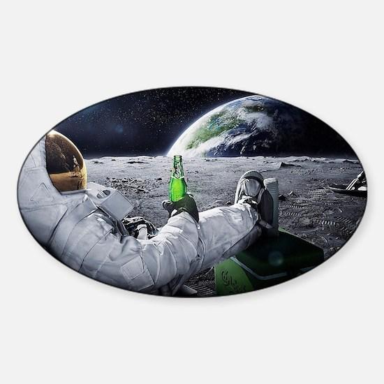 astronaut beer Decal