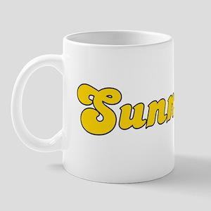 Retro Sunnyvale (Gold) Mug