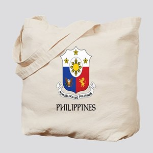 Philippines Coat of Arms Tote Bag
