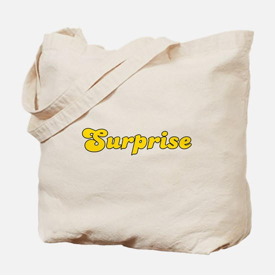 Retro Surprise (Gold) Tote Bag