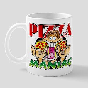 Pizza Maniac @ eShirtLabs.Com Mug