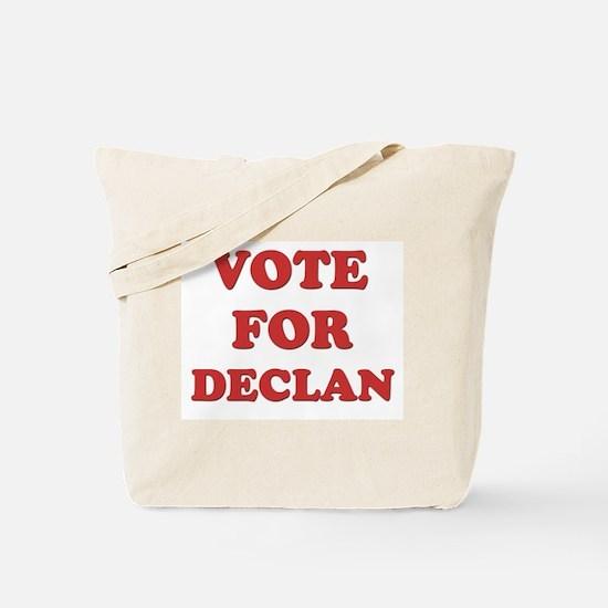 Vote for DECLAN Tote Bag