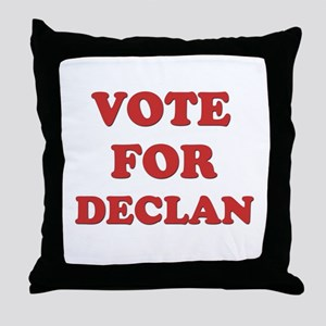 Vote for DECLAN Throw Pillow