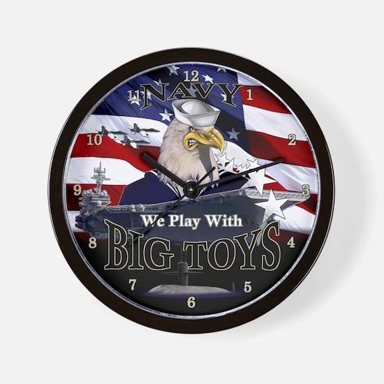 NAVY BIG TOYS T-shirts & Gift Wall Clock