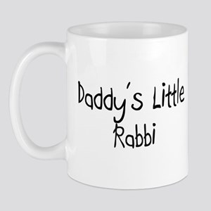 Daddy's Little Rabbi Mug