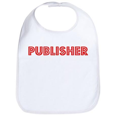 Retro Publisher (Red) Bib