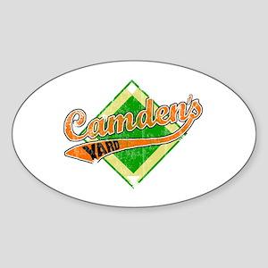 Camden's Yard Oval Sticker