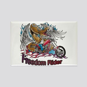Freedom Rider Rectangle Magnet