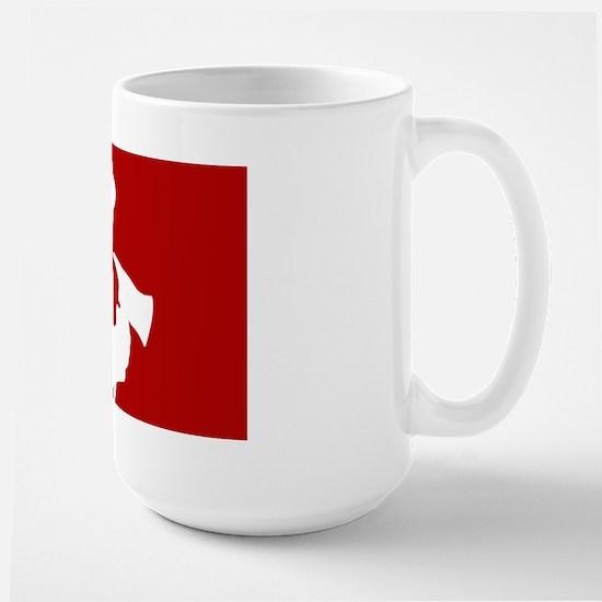 American Firefighter Large Mug