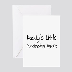 Daddy's Little Purchasing Agent Greeting Cards (Pk