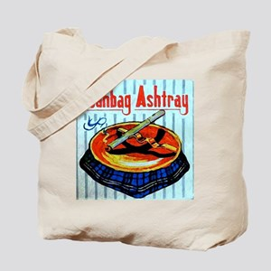 Beanbag Ashtray Tote Bag