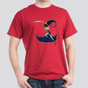 Anime Warrior Woman Dark T-Shirt