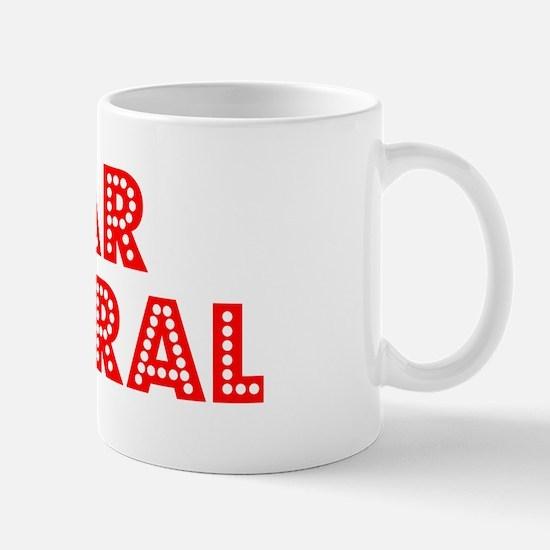 Retro Rear Admiral (Red) Mug