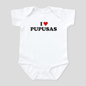 I Love Pupusas Infant Bodysuit