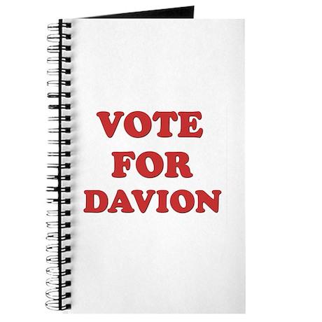 Vote for DAVION Journal