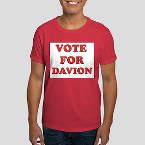 Vote for DAVION Dark T-Shirt