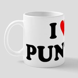 I Love Punta Mug