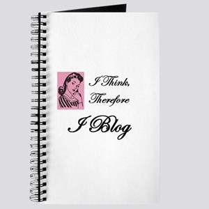 """I Think, Therefore I Blog"" Journal"