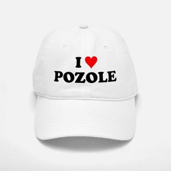 I Love Pozole Baseball Baseball Cap