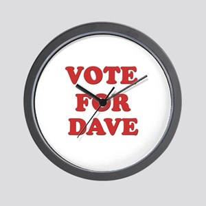 Vote for DAVE Wall Clock