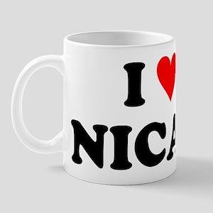 I Love Nicas Mug
