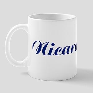 Classic Nicaragua (Blue) Mug