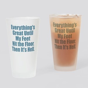 Everything's Great - Hell Drinking Glass