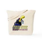 Woodie-Hoodie Tote Bag