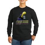 Woodie-Hoodie Long Sleeve Dark T-Shirt