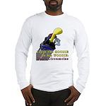 Woodie-Hoodie Long Sleeve T-Shirt